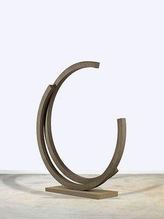 Bernar Venet, '238.5° ARC x 2' - by Artcurial - Briest - Poulain - F. Tajan #sculpture #contemporary