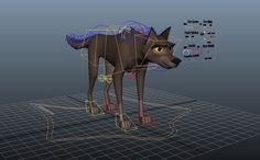 Nice cartoony wolf rig, great for a quick practise shot. Very simple to use. Animation Sketches, Animation Reference, 3d Animation, 3d Realms, Character Rigging, Animation Programs, 3d Dog, Free Characters, Doodle Drawings
