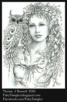 Perizada fairy-born Norma J. Burnell