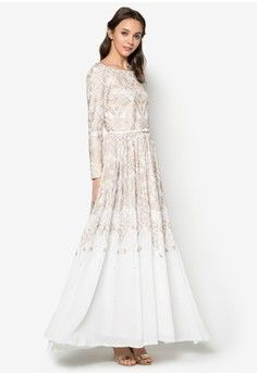 Maxi dress long sleeve online malaysia kini