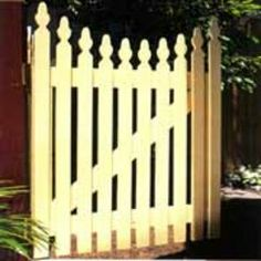 Build A Picket Gate