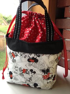 Mickey Mouse lunch bag / tote only one left