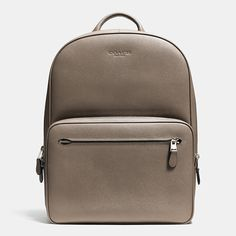 Flawless functionality meets urban tailoring on an ultra-refined backpack crafted in durable, richly textured crossgrain leather. Sharp enough for the office and just laidback enough for the weekend, this trim, hands-free design is outfitted with a laptop sleeve, a front pouch large enough for a tablet, and a mesh back for breathability.