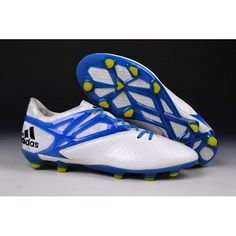 lower price with 8a50c 0e9a9 Buy Adidas Messi 15.1 FG Soccer Cleats White Prime Blue Core Black B34360 -  Adidas Messi