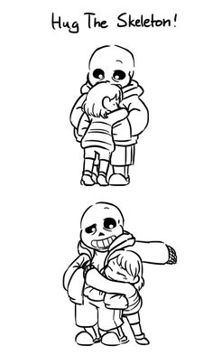 spaghetti time, More platonic sans and frisk?