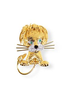 Van Cleef & Arpels Lion Clip -- Photograph Courtesy of Manufacturer