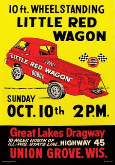 Great Lakes Dragway - Little Red Wagon