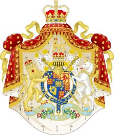 Coat of Arms of a Bonaparte Britain by IEPH