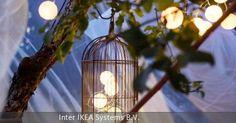 """Sieht nicht nur gut aus, sondern spart auch noch Strom: Die Solarlichterkette """"Solvinden"""" wandelt Sonnenlicht in Energie um und benötigt keine zusätzlichen Anschlüsse oder Kabel. Erhältlich bei Ikea."""