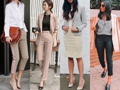 business attire summer 66 Trending Summer Business Attires for Women Summer Business Attire, Business Outfits, Business Fashion, Hair To One Side, Short Hairstyles For Women, Curly Haircuts, Summer Hairstyles, Retro Look, Grunge Fashion
