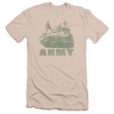 Army - Tank Adult Slim Fit T-Shirt