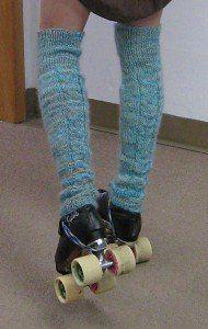 Free Knitting Pattern - Legwarmers: Rivulet Legwarmers