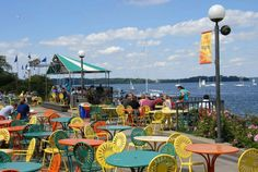 Union Terrace, University of Wisconsin - Madison. One of my favorite places on the planet!