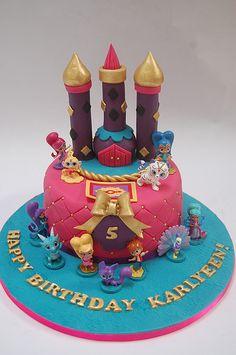 Shimmer and Shine Cake – Beautiful Birthday Cakes