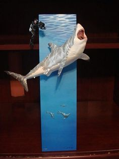 Nice build of the Pegasus Hobbies Great White Shark kit… Sculpture Art, Sculptures, Mermaid Man, Cast Acrylic, Military Diorama, Great White Shark, Figure Model, Fish Art, Art Lessons