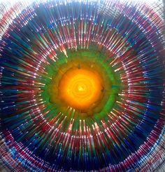 Emin Özdemir-Rotational oscillation method, 100x100 cm. Plexiglas, glaspainting, ledlight. Eminem, Handmade, Art, Art Background, Hand Made, Kunst, Performing Arts, Handarbeit, Art Education Resources