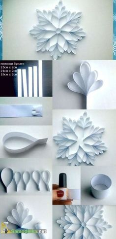 DIY | Des décorations de Noel en papier! 15 idées pour vous inspirer… Ice Tray, Silicone Molds, Light Bulb, Hacks Diy, Bulb Lights, Lightbulb, Bulb, Electric Light