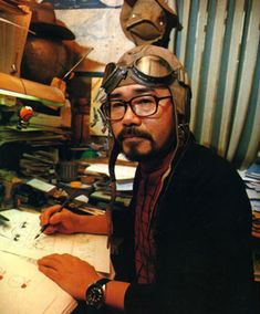"""Leiji Matsumoto - Creator of Captain Harlock (Albator in french) and """"Knighted"""" By France"""