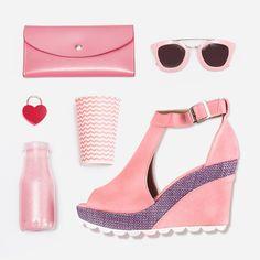 Platform, Wedges, Heels, Fashion, Heel, Moda, Fashion Styles, Shoes Heels, Fasion