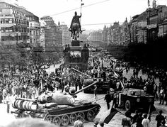 Warsaw Pact invasion of Czechoslovakia Prague Spring, Prague Photos, Warsaw Pact, Visit Prague, South Tyrol, Interesting History, World Cultures, Czech Republic, One Pic