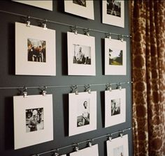 25 Examples Of How To Display Photos On Your Walls | Daily source for inspiration and fresh ideas on Architecture, Art and Design