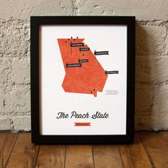 Georgia State Map /  These Are Things