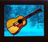 stained glass guitar pattern - Bing Images.  I like the acoustic guitar here.