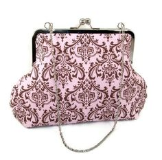 DECADENT DAMASK Handbag by BitsandPurses on Etsy, $30.00