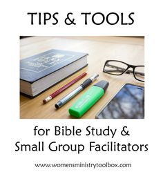 Has God called you to serve as a Bible study leader or small group facilitator? Would you like some tips on encouraging discussion? Maybe you're looking for some first day ideas? Or perhaps the clock moves faster than it should and you need some help staying on schedule. Whatever your situation, I've got some ideas …