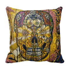 Design by LeahG unique to LeahG stores. fun skulls and bones pattern hipster hippy style sugar SKULL pattern. Lots of fun hipster skull matching accessories and gifts. Different sugar skull design patterns also available. Skull wallpaper style pattern print. Great goth girl gift, fun gothic skull design. Punk skulls, punk girl accessories. Skulls are very trendy and fashionable now.