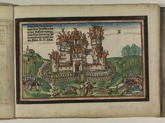 Artist: Unknown, Title: Bamberger Burgenbuch, Date: 1527, Page: 17