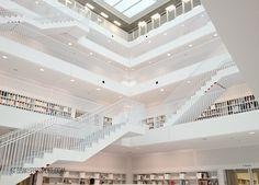 Stuttgart Library Interior by Shannon Elizabeth from GrabMyPassport.com