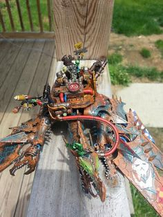 Looted Helldrake - Orks 40K