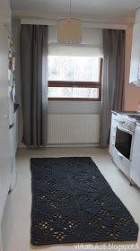 virkattukoti: Viktoriaaninen matto Crochet Carpet, Koti, Diy And Crafts, Victorian, Kids Rugs, Knitting, Home Decor, Carpet, Houses