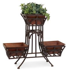 Details About White Metal Bicycle Pot Plant Stand 3 TIER Garden Home Patio  Wedding Gift Decor | Gardens, Wedding And Pot Plants