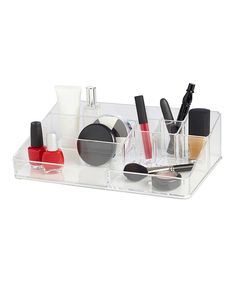 Look at this Stackable Nine-Compartment Organizer on #zulily today!