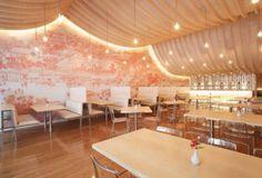 Diseño del restaurante Happy Panda en Quito...