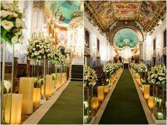 decoracao casamento igreja nossa senhora do brasil