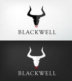 "Cool design, a nice bold agressive looking bull. Center of attention goes straight to the nose ring. I like the top black one better however, because i feel that it stands out more. Nice use of color to create a ""shadow"""