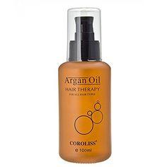Argan Oil Hair Therapy for All Hair Types Coroliss 100ml KA069 - http://essential-organic.com/argan-oil-hair-therapy-for-all-hair-types-coroliss-100ml-ka069/