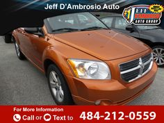 2011 *Dodge*  *Caliber* *Mainstreet*  105k miles $7,999 105796 miles 484-212-0559 Transmission: Automatic  #Dodge #Caliber #used #cars #JeffDAmbrosioAutoGroup #Downingtown #PA #tapcars