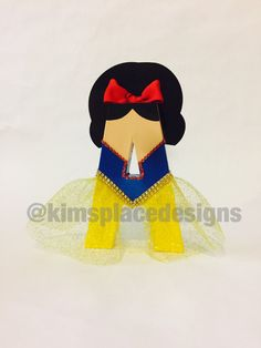 Snow White Letters Custom Decor Letters Snow White Party