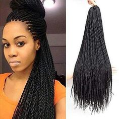 # tight Braids afro New VRUnique Inch Count), Senegalese Twist Crochet Hair Braids Small Havana Mambo Twist Crochet Braiding Hair Senegalese Twists Hairstyles For Black Women 30 Strands/Pack online - Youllfindoffer Short Senegalese Twist, Senegalese Twist Crochet Braids, Havana Mambo Twist Crochet, Senegalese Twist Hairstyles, Twist Braid Hairstyles, Crochet Braids Hairstyles, Crochet Twist, Quick Crochet, Tight Braids
