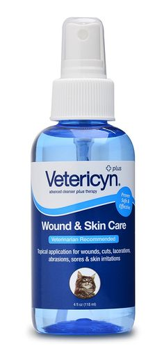 Vetericyn Feline Wound and Skin Care -- Learn more by visiting the image link. (This is an Amazon affiliate link)