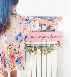 Mi primera máquina de coser: Un vestido en tres pasos Clothing Patterns, Sewing Patterns, Diy Vestido, Clothes Crafts, Easy Sewing Projects, Couture, Diy Dress, Pretty Outfits, Boho Chic