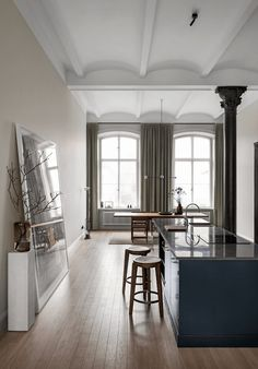 Home of architect Andreas Martin Löf | styling by Lotta Agaton Interiors
