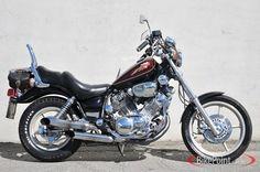 1994 Yamaha Virago 1100 (XV1100) my current ride, mine is black.