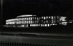 Natt ved Aspåsen skole i 1967