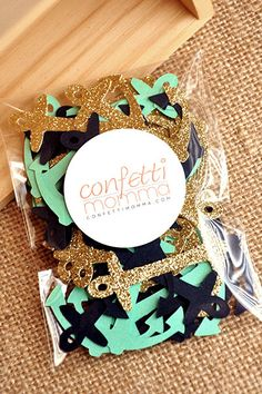 Confetti Mommas Anchor Confetti is rich in color and quality and perfect for a Nautical Themed Baby Shower or Bridal Shower! Use it to stuff