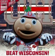 10-15-2016 GAME #6 THE VS. WISCONSIN EVERY GAME IS A HOME GAME.